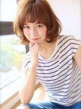 アグ ヘアー グリーン 長町駅前店(Agu hair green)~大きめカールショートボブ~