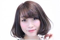 前髪ふんわりワンカールパーマメニュー¥1500