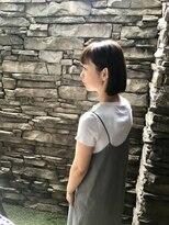 リリー(LiLy)前髪ぱっつんbob