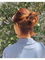 ツリー(Tree. Hair & Spa)ウェーブボブ(インナーにアクセサリーカラー)