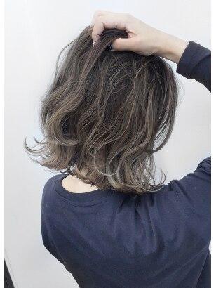 2020年春 ミディアム ハイライトの髪型 ヘアアレンジ 人気順
