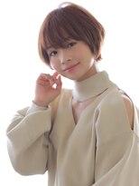 ヘアリゾート ブーケ(hair+resort bouquet)【小顔カット】×ミルクティーベージュ