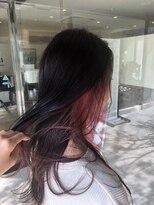 ヘアメイク シュシュ(Hair make chou chou)【林 有里子】インナーカラー×レッドパープル