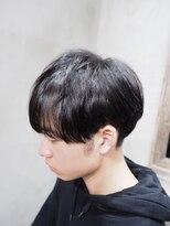 【メンズシャビ/メンズ専門】Tomiツーブロック×黒髪マッシュ