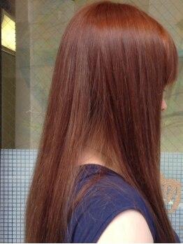 ナチュラ(Natur)の写真/全工程マンツーマン施術だから安心。髪をほぼ傷めない特殊な[ノンアルカリ縮毛矯正]登場!!憧れサラ艶ヘア♪
