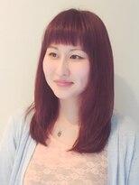 ブレッザヘアー(Brezza hair)眉上バング☆愛されヘア×Brezza hair 笹塚