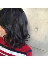 バンビーニ黒髪っぽく見えるけど黒髪じゃないダークグレージュ
