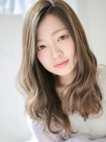 アグ ヘアー リノ 大名店(Agu hair reno)透明感カラーで魅せる綺麗めウェーブロング