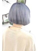 ヘアーサロン エール 原宿(hair salon ailes)(ailes原宿)style342 デザインカラー☆プラチナシルバー