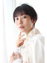 ココロヘアー 中島店(Cocolo hair)黒髪ショートスタイル