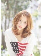 リノ ヘア 横浜西口店(RINO Hair)価格5000円 センターパート × ニュアンス ミディアム