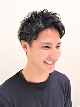 ヘアーメイク シャンプー(hair make shampoo)の写真/≪大人気メニュー☆メンズカット+ヘッドスパ≫学生からビジネスマンまで…きまるスタイル&頭皮をすっきり!