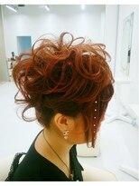 ヘアーサロン エール 原宿(hair salon ailes)(ailes 原宿)style75パーティーstyle