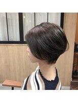 テラスヘア(TERRACE hair)横顔美人シルエット