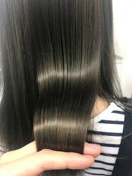 """ヘアーアート リアンジュ(hair art Lienge)の写真/髪のダメージにお悩みの方にオススメ!""""hair art Lienge""""だからこそ出来る施術があります♪"""