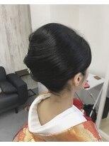 和装/髪型/着付/アップスタイル