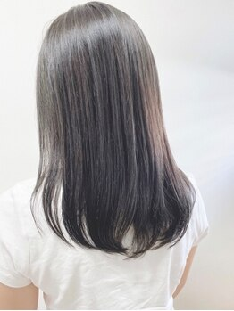 ジールヤマグチ 朝霧駅前店の写真/ダメージを最小限に抑えて、毛先まで潤う◎広がりが気になる髪も自然に触れたくなる美しいストレートに☆