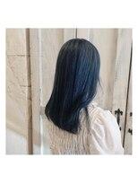 ルパラディ(leparadis)K-pop風ブルーヘア