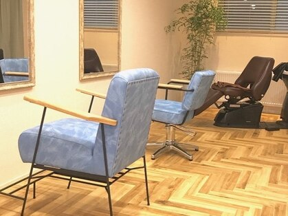 アオ ヘアドレッシングルーム(ao hair dressing room)の写真