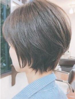 GOD 渋川店の写真/髪に優しいダメージレスカラ―。傷みを気にせず定期的にカラ―ができるのが嬉しい◎プチプラ価格も魅力的♪