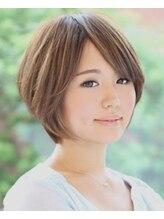 ヘアサロン ニナ(hair salon nyna)高感度アップ♪ナチュラルショート