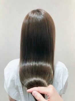 美容室 アクターの写真/レルミストリートメントをはじめとした厳選トリートメントでお客様の髪質に合わせてオーダーメイド♪