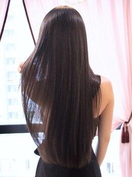 ロギア ニコ(hair LOGiA nico)の写真/【名駅徒歩5分】[Cut+矯正+ハホニコTr¥9800]一人ひとりの髪質に合わせた施術で思い通りの仕上がりに♪