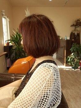 マローンヘア(marron hair)の写真/マンツーマン施術で視線を気にする事なくリラックスしながら美を追求♪髪のお悩み何でもご相談下さい◎