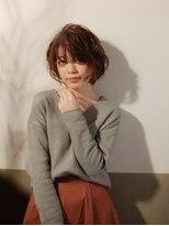 ムーン(moon)モテ髪♪ラフな軽さと動きのあるショートスタイル☆