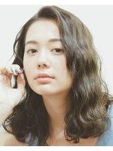 グッデイ(good day)【GOOD DAY HAIR】《noelle》セミディ波ウェーブ 下北沢
