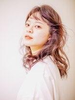 ヘアーフォトギフト(HAIR×PHOTO gift.)癖毛風ガーリーセミウェーブ