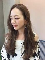 ニコ ヘアーアンドメイク(nico hair&make)〔nico〕透け感ベージュ