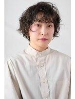 シアン ヘア デザイン(cyan hair design)【cyan】クセ毛風ショート