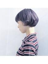 キルト(kilto.)purple×short bob
