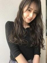 リンネルヘアー 名駅店(Rin:nel hair)【お客様スタイル】ロングヘア/フォギーベージュ