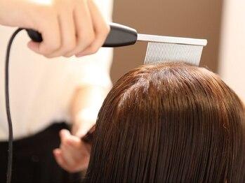 ヘアー コパイン(HAIR COPAIN)の写真/【熊本初◇美髪エステ】髪質改善の近道は原因を理解する事.毛髪/頭皮診断で髪ダメージを徹底的に分析します
