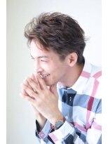 ハピネス バイ アフロート 四条河原町店(HAPPINESS by afloat)2ブロックリバースショート 無造作ショートネープレス 百田