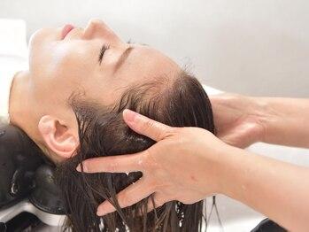 ルシードスタイルビギン(LUCIDO STYLE BEGIN)の写真/健康美髪に必須なヘッドスパは当店でお試しください◆【カット+カラ-+Aujuaヘッドスパ】¥13500→¥12420~