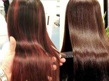 最先端トリートメント使用☆髪質改善、一人一人に合わせた最高質のオーダーメイドTrで極上の髪へ