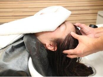 アルモニー ヘアー(Harmonie Hair)の写真/頭皮から汚れを洗い流し、栄養成分を浸透させるのでうるツヤな髪に。パラオクレイで頭皮からキレイに…♪