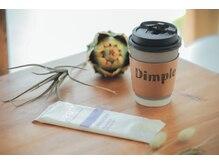 ヘアアンドメイク ディンプル(HAIR&MAKE Dimple)の雰囲気(ドリンクやタブレットなど、居心地を考えたサービスをご提供)