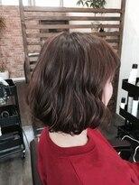 プロキシムヘアワークス(proxim hair works)ゆるふわボブ