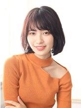 カイノ イオンモール倉敷店(KAINO)【KAINO】大人かわいい◎耳かけナチュラルボブオイルカラー