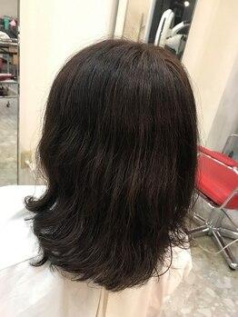 ニフティ(Nifty)の写真/【青山駅徒歩約9分】明るい色味も【Nifty】にお任せ♪1人1人に合わせた上品なカラーで自然な艶髪へ。