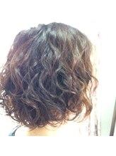 ヘアクリエイト タフス(Hair Create Tafs)カーリーボブ