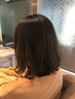 リプル(Ripple)【リアルサロンワーク】馴染ませハイライト+抜け感カラー