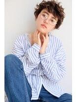 ラレイ(Lalei)【ささきまさき】毛先パーマ+マッシュベリーショート