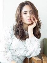 アフロート ディル(AFLOAT D'L)アフロート斎藤 レイヤーカット 大人女性 可愛い髪型