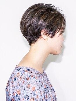 クーヘアーシエル(coo hair ciel)の写真/少しの変化で印象が変わる。繊細に削ぎ落としていく丁寧なカット技術で想像以上のショートヘアへ。