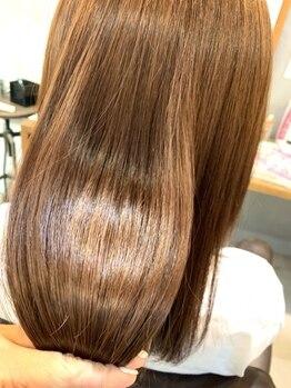 アルモヘアヴォーグ 静岡(ALMO hair VOGUE)の写真/《SNS,TVで話題沸騰のケアプロ/酸熱トリートメント導入☆》ダメージを徹底補修し、髪の芯から潤うヘアに*